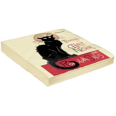 Serviettes - Tournée du Chat noir - Tournée du Chat noir