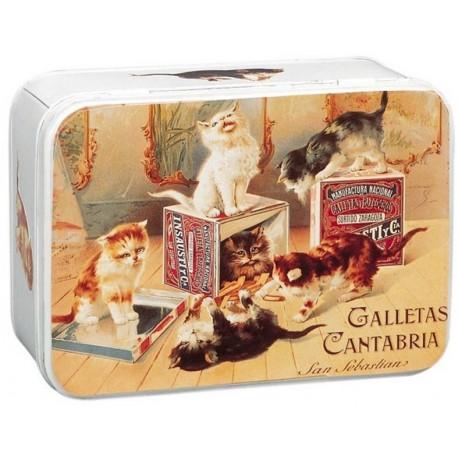 Boite à sucre - Biscuits chats (fin de série) - Galletas Cantabria
