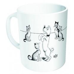 Mug - Dressage de chien - Chats Dubout