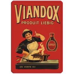 Plaque métal 15x21 - Viandox