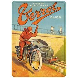 Plaque métal - Motocycle - Terrot