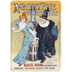 Plaque métal - Absinthe