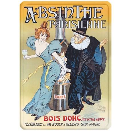 Plaque métal - Absinthe - Absinthe Parisienne