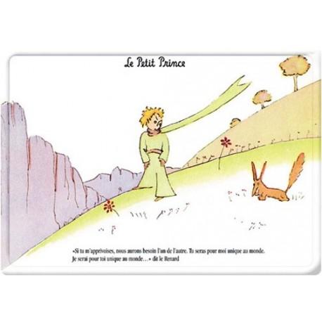 Plaque métal - Le renard - Le Petit Prince