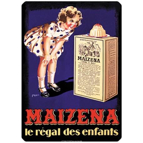 Plaque métal - Gâteau - Maizena