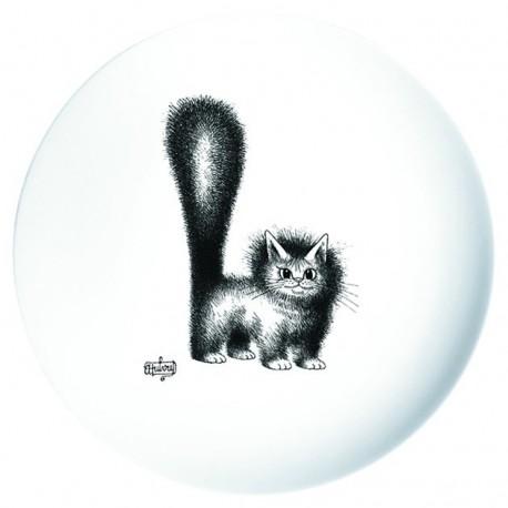 Plat à tarte - Chat mignon - Chats Dubout