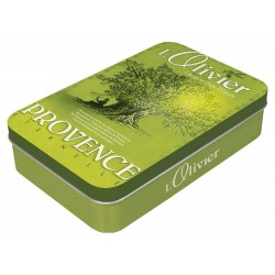 Boite à savon - Olivier - Provence