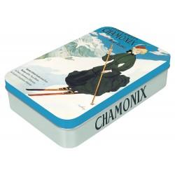 Boite à savon - Chamonix - La skieuse