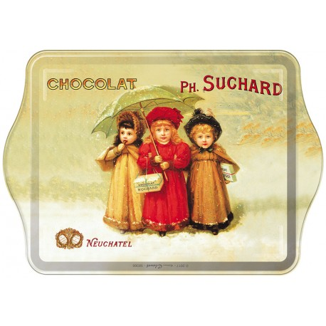 Vide-poches - Trois enfants - Chocolat Suchard