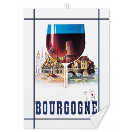 Torchon - Bourgogne Verre