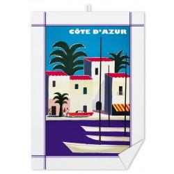 Torchon - Côte d'Azur - Port (fin de série)