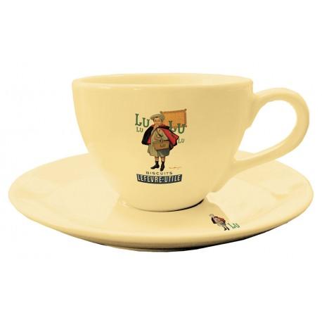 Tasse et soucoupe à café - Petit Écolier