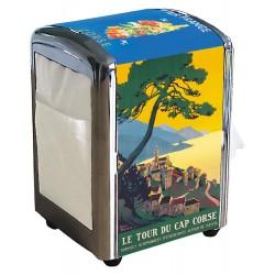 Distributeur de serviettes - La Corse de Broders