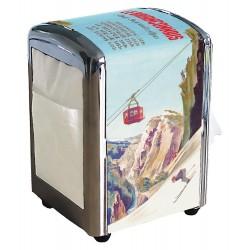 Distributeur de serviettes - Le Briançonnais (fin de série)