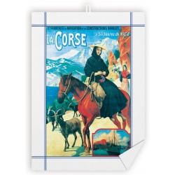 Torchon - Corse - Chèvres de Bonifacio