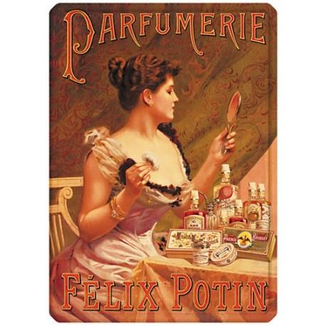 Plaque métal 15x21 - Parfumerie