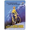 Plaque métal 15x21 - Bicyclette
