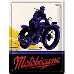 Plaque métal - Motocycle Motobécane - Motobécane