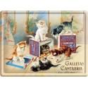 Plaque métal 30x40 - Biscuits chats