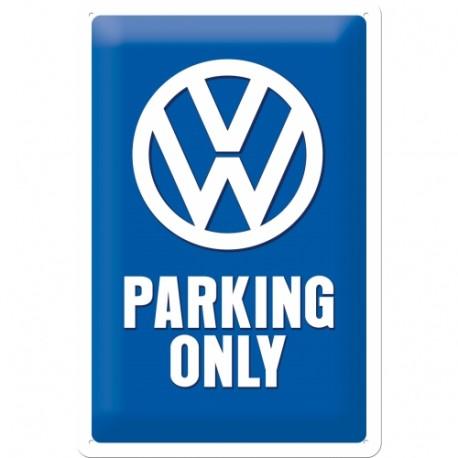 Plaque métal 3D 20x30 - Parking