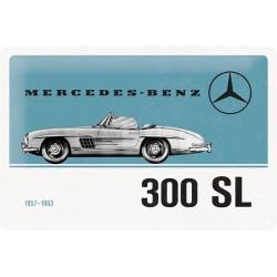 Plaque métal 3D 20x30 - 300 SL