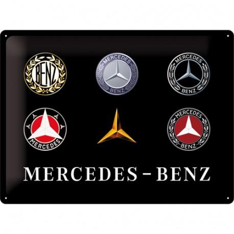 Plaque métal 3D 30x40 - Logos