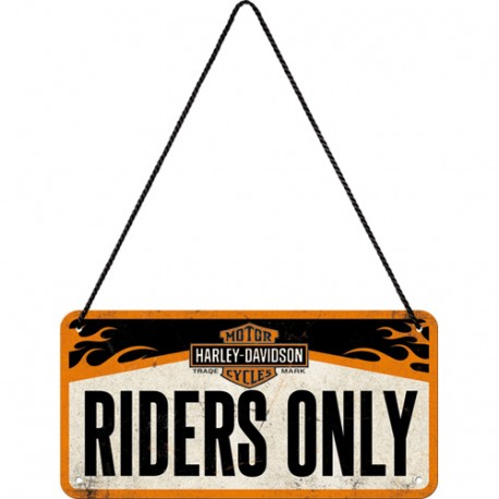 Plaque à suspendre - Riders Only