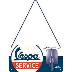 Plaque à suspendre - Service 4
