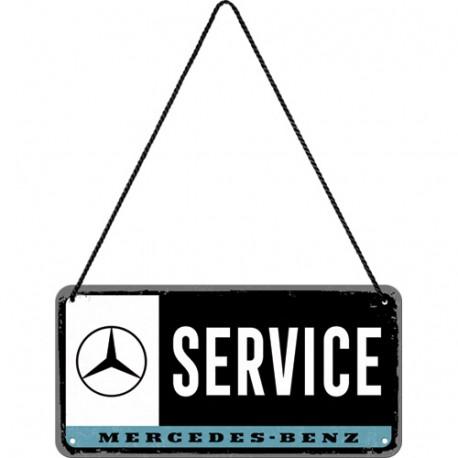 Plaque à suspendre - Service 3