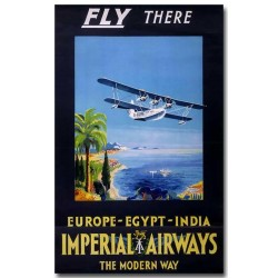 Affiche - Avion Imperial (rupture définitive)
