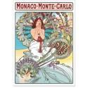 Affiche - Monaco - Art nouveau