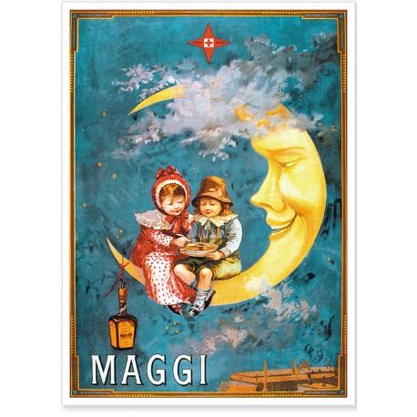 Affiche - Lune - Maggi
