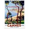 Affiche - Cannes - Eté hiver - PLM
