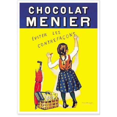 Affiche - Petite Menier - Chocolat Menier
