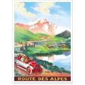 Affiche - Col de Vars