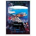 Affiche - Rallye de Monte-Carlo de 1912
