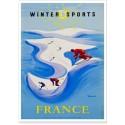 Affiche - Sports d'hiver