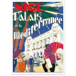 Affiche - Nice Palais de la Méditerranée