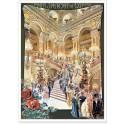 Affiche - Paris - Le théâtre de l'Opéra
