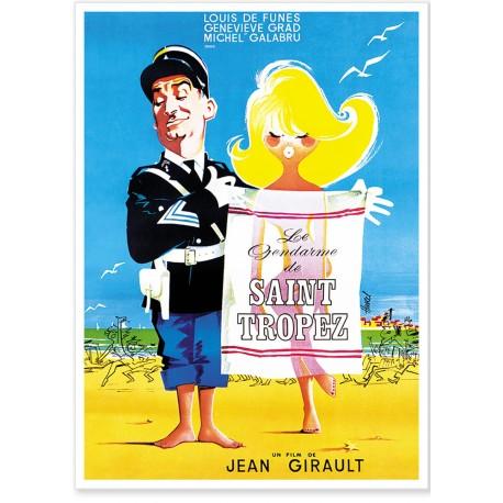 Affiche - Le Gendarme de Saint-Tropez - Le Gendarme de Saint-Tropez