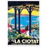 Affiche - Station climatique de La Ciotat - PLM