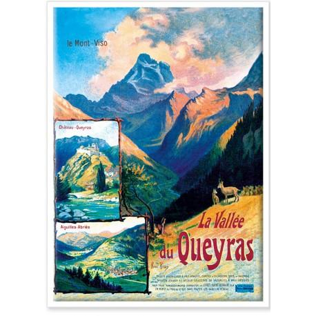 Affiche - La Vallée du Queyras