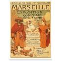 Affiche - Exposition coloniale de 1906 - Marseille