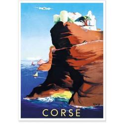 Affiche - Corse Bonifacio