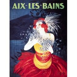 Affiche 50x70 - Danseuse Aix les Bains