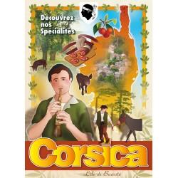 Affiche 50x70 - Spécialités Corses