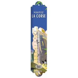 Thermomètre - Village de Corte en Corse