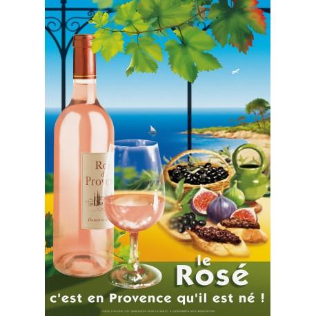 Poster 30x40 - Le Rosé