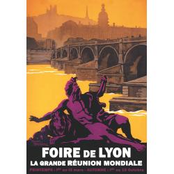Affiche 50x70 - Foire de Lyon
