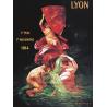 Affiche 50x70 - Exposition internationale de Lyon